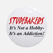 Studebaker Addiction Ornament (Round)