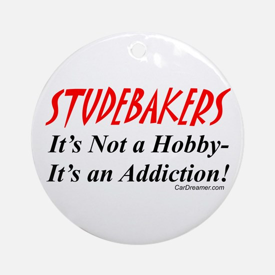 Studebaker Addiction Ornament (Round)
