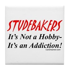 Studebaker Addiction Tile Coaster