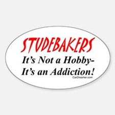 Studebaker Addiction Oval Decal