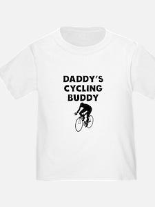 Daddys Cycling Buddy T-Shirt
