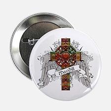 """MacGill Tartan Cross 2.25"""" Button"""