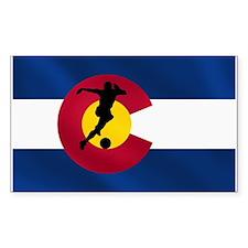 Colorado Soccer Decal