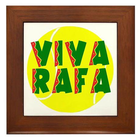 Viva Rafa Framed Tile