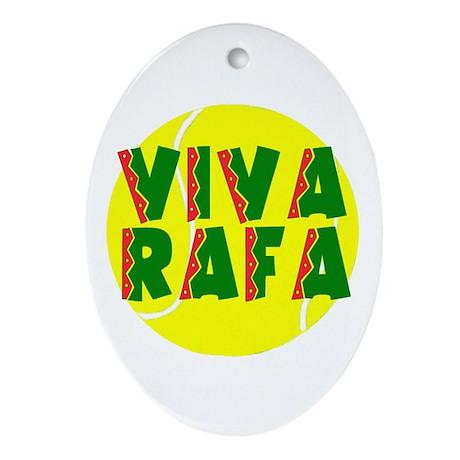 Viva Rafa Oval Ornament