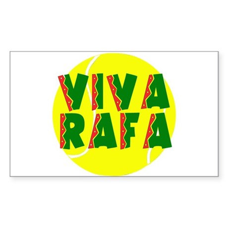 Viva Rafa Rectangle Sticker