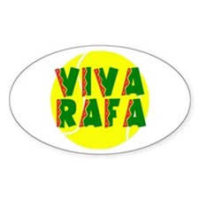 Viva Rafa Oval Decal