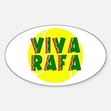 Viva Rafa Oval Decal