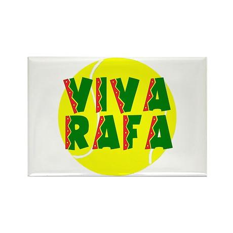 Viva Rafa Rectangle Magnet