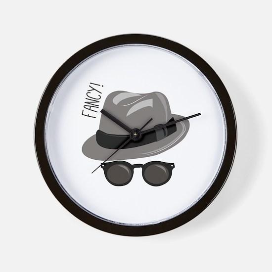 Fancy Hat Wall Clock