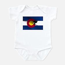 Colorado Skiing Infant Bodysuit