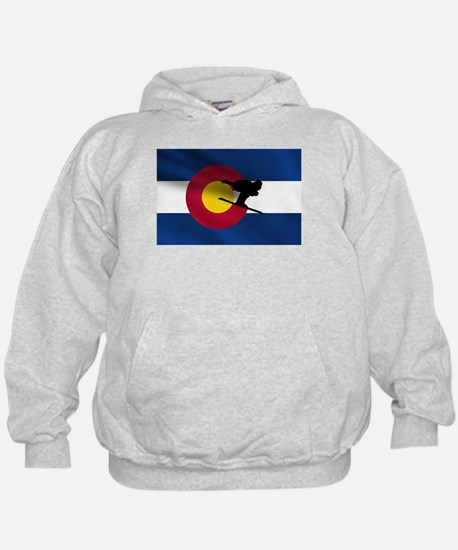 Colorado Skiing Hoody