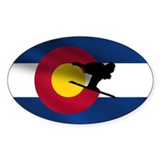 Colorado Skiing Decal