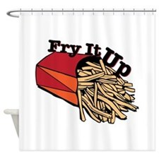 Fry It Up Shower Curtain
