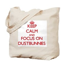Funny Dustbunnies Tote Bag