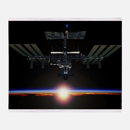 iss Throw Blanket