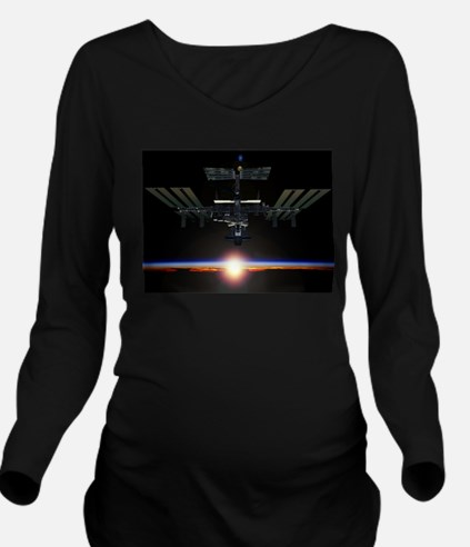 iss Long Sleeve Maternity T-Shirt
