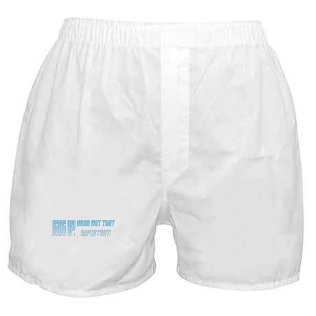 Hang Up! Boxer Shorts