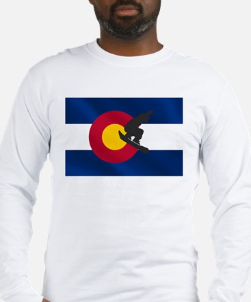 Colorado Snowboarding Long Sleeve T-Shirt