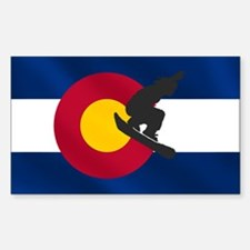 Colorado Snowboarding Bumper Stickers