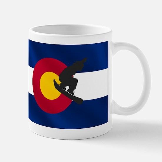 Colorado Snowboarding Mug Mugs