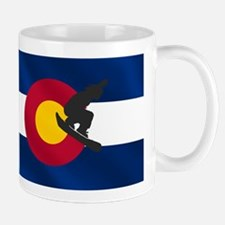 Colorado Snowboarding Small Small Mug