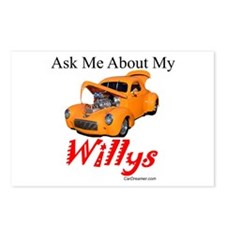 Willys Postcards (Package of 8)