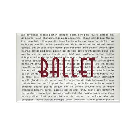 Ballet Rectangle Magnet (10 pack)