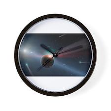 comet strike Wall Clock
