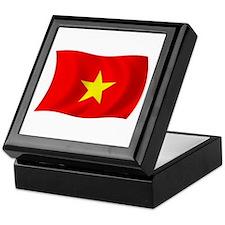 Vietnam Flag Keepsake Box