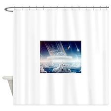 astroid,strike Shower Curtain