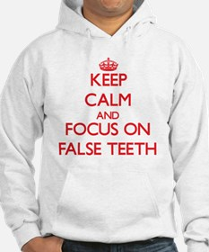 Cute False teeth Hoodie