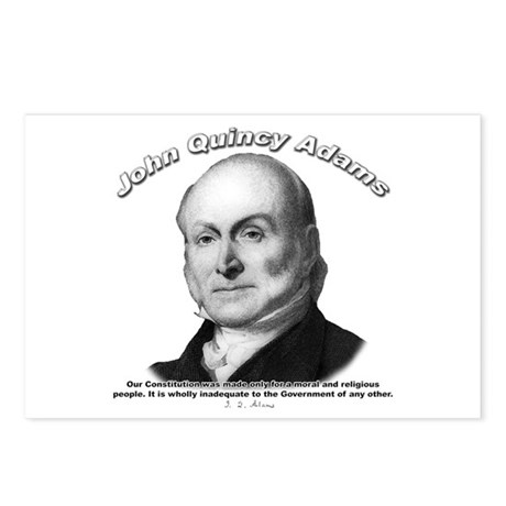 John Quincy Adams 01 Postcards (Package of 8)
