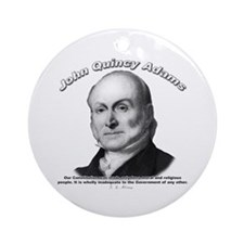 John Quincy Adams 01 Ornament (Round)