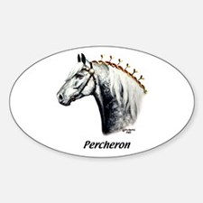 Percheron Sticker (Oval)
