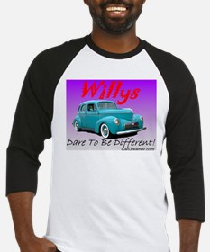 """Willys-Dare To Be Diff"" Baseball Jersey"