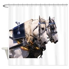 Percheron Shower Curtain