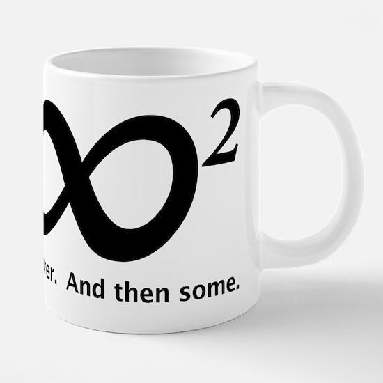 INFINITY SQUARED Mugs