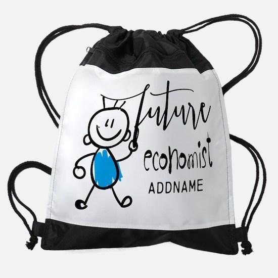 Future EconomistPersonalized Drawstring Bag