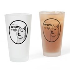 Wow SO Style, such Meme Drinking Glass