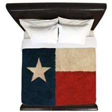 Rustic Republic of Texas King Duvet