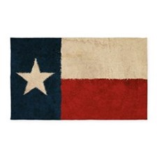 Rustic Republic of Texas 3'x5' Area Rug