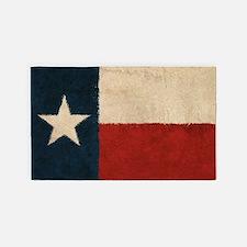 Rustic Republic of Texas 3'x5' Area Rug