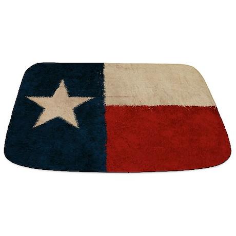 Rustic Republic of Texas Bathmat