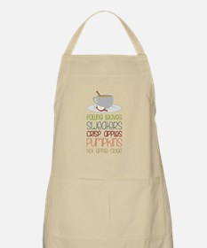 Falling Leaves Sweaters Apron