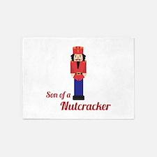 Son of a Nutcracker 5'x7'Area Rug