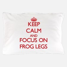 Funny Keep calm frog Pillow Case