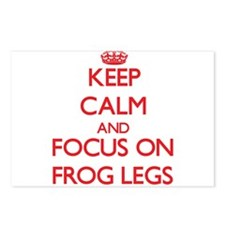 Funny Keep calm frog Postcards (Package of 8)