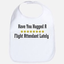 Hugged Flight Attendant Bib