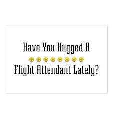 Hugged Flight Attendant Postcards (Package of 8)